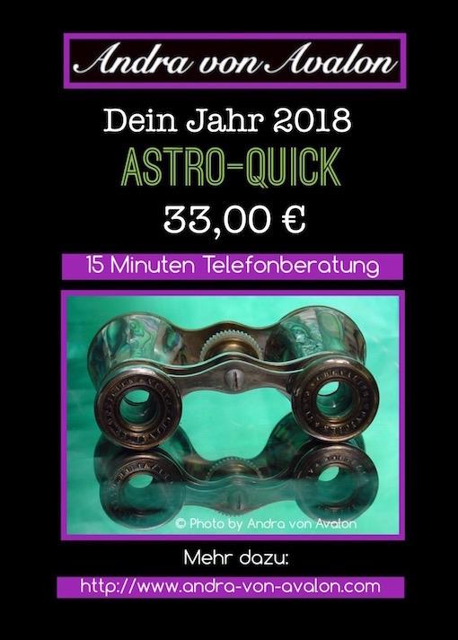 Andra von Avalon - Astro-Quick-Angebot 2018