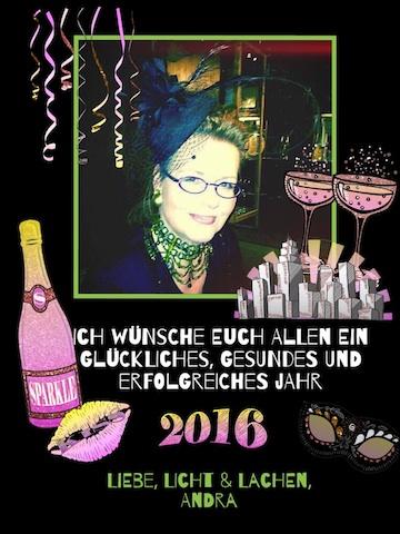 Andra von Avalon - Wünscht Gutes Neues Jahr 2015