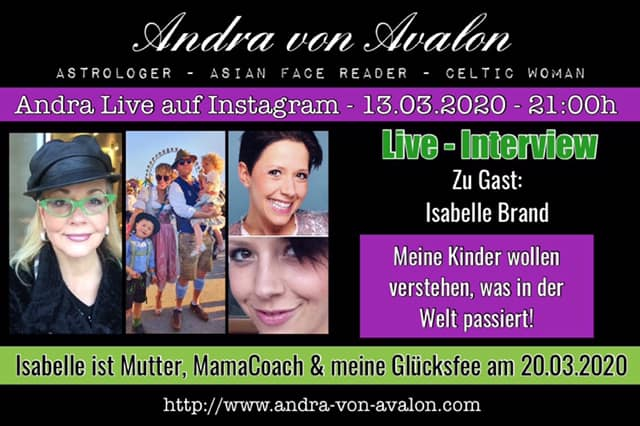 Live mit MamaCoach Isabelle Brand