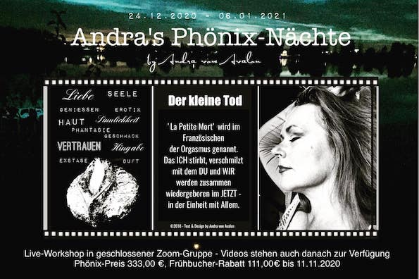 Andra's Phönix-Nächte - Plakat
