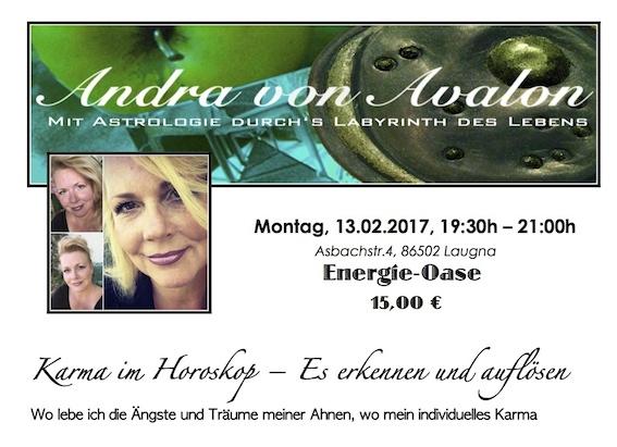 Bild von Andra und dem Vortragsthema am 23.01.2017 um 19:30h