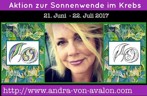 Andra's Astrologie & AstroArt - Sommer-Aktion für Krebsgeborene