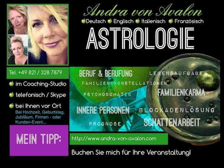 Astrologie-Andra von Avalon's Astrologie Themen mit Bild von Andra