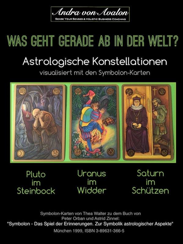Symbolonkarten zur Astrologischen Konstallation